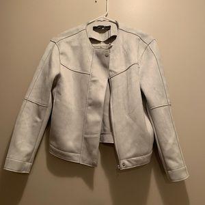 Zara suede jacket nwot